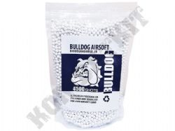 4500 x 6mm x 20g White Biodegradable Polished Airsoft BB Gun Pellets in Bag Bulldog